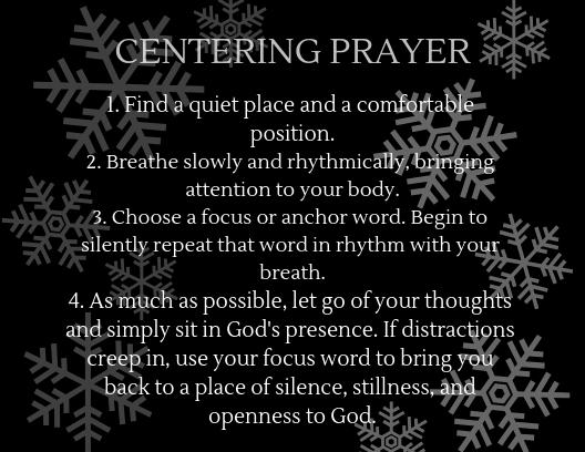 Centering Prayer (1)